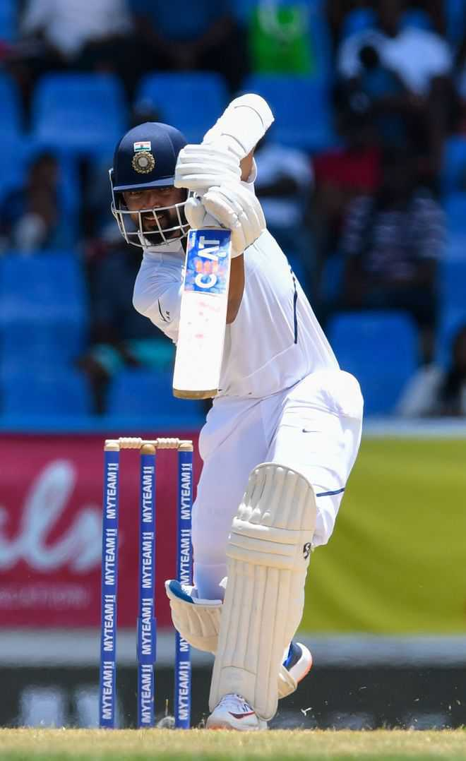Ajinkya Rahane's 81 only saving grace in India''s 203 for 6 on day 1