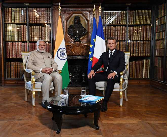 India, Pakistan should resolve Kashmir issue bilaterally, says Macron