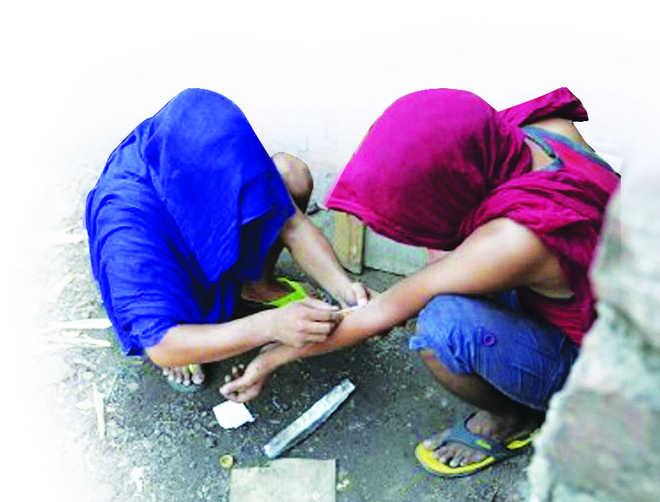 Drug menace spreads to areas along Punjab