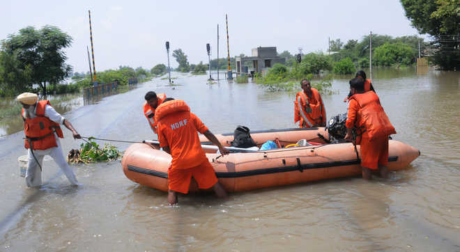 Punjab flooded