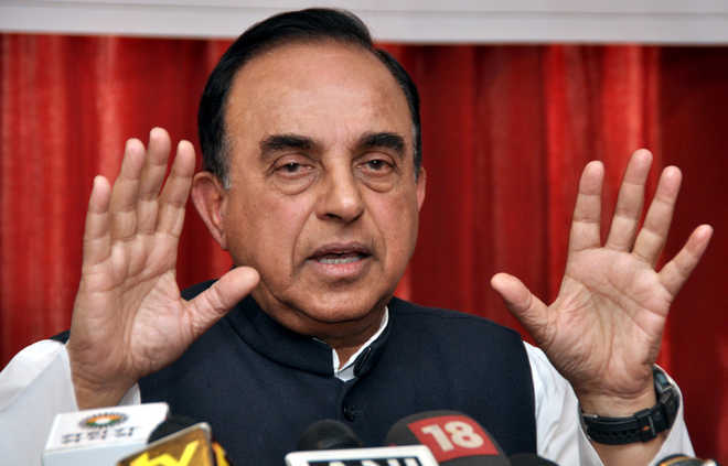 Stop work on Kartarpur corridor, have no talks with Pak at all: Swamy