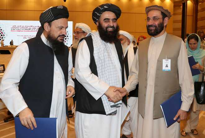 US, Taliban resume push for peace at Doha talks: US source