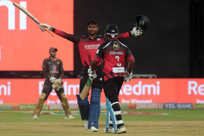 134*, 8/15: Gowtham's T20 miracle