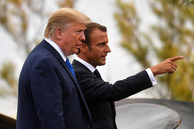 G7 leaders give Macron nod to send message to Iran: Elysee source