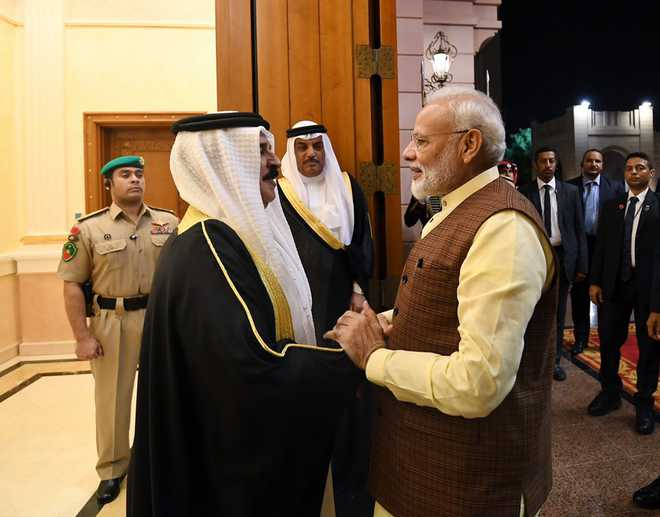 India, Bahrain call on global community to reject use of terrorism against other countries