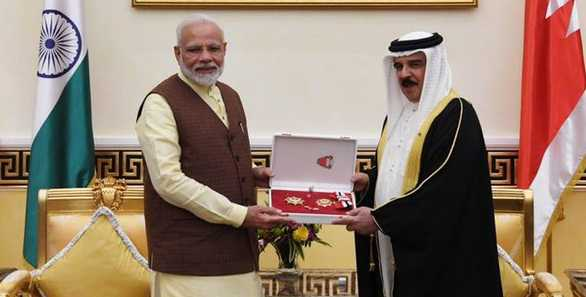 Bahrain confers The King Hamad Order of the Renaissance to PM Modi