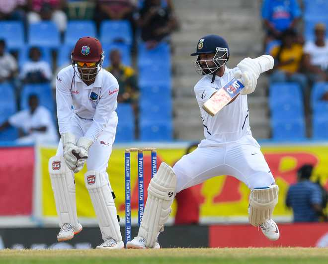 India set West Indies 419-run target in opening Test