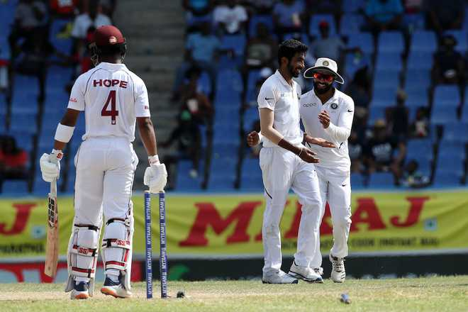 Rahane's century, Bumrah's fifer script record win for India