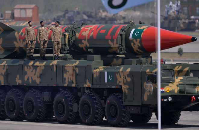 Pakistan ups nuclear rhetoric, carries out launch of ballistic missile