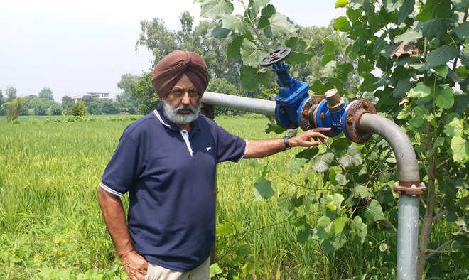 277 farmers join save water initiative