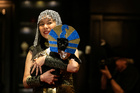 Meril, dressed as an ancient Egyptian, takes part on the runaway during the Algonquin Hotel's Annual Cat Fashion Show in the Manhattan borough of New York City, New York, August 1, 2019. —Reuters