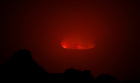 Lava is seen glowing inside the crater of the Nyiragongo volcano inside the Virunga National Park near the eastern Congolese city of Goma in the Democratic Republic of Congo, August 9, 2019. — Reuters