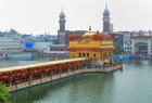 Special floral decorations were seen at the Golden Temple on the occasion of the 415th installation anniversary of Sri Guru Granth Sahib, in Amritsar on August 31, 2019. — PTI