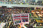 HK grounds all flights as protesters swarm airport