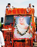 Chautalas come together for mother's last rites