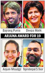 Punia, Malik bag Khel Ratna award
