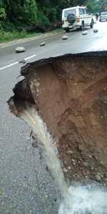 Heavy rain ravages Kangra, Kullu, Chamba