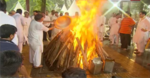 Arun Jaitley cremated with state honours; thousands bid farewell
