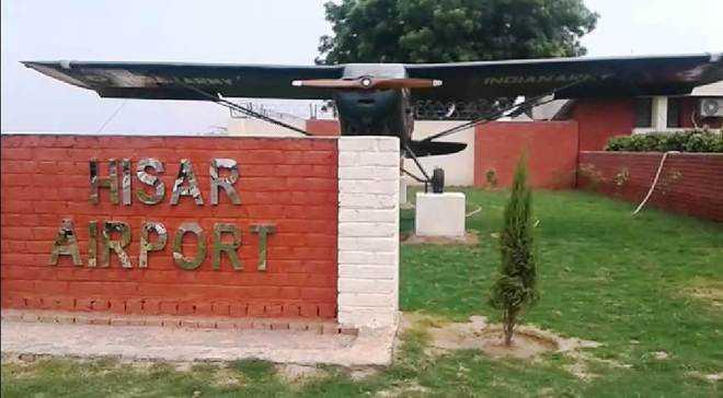 Flights from Hisar begin tomorrow