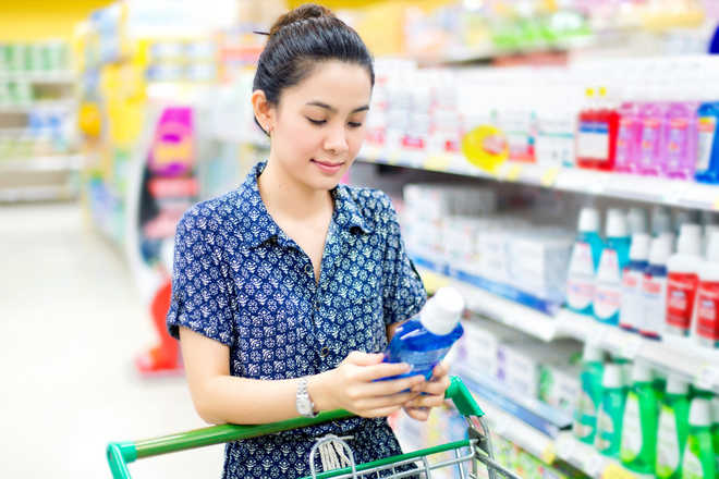 Mouthwash use could negate benefits of exercise