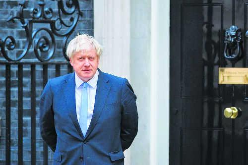 Boris Johnson: Between a rock & a hard place