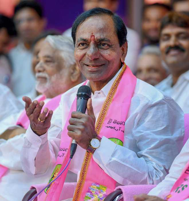 Senior TRS leaders 'unhappy' with KCR's recent cabinet expansion