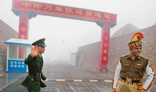 Contradictory stands on Chinese intrusion