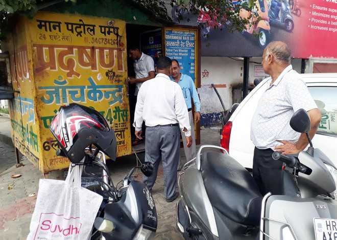 No pollution checking centre linked to 'Vahan'