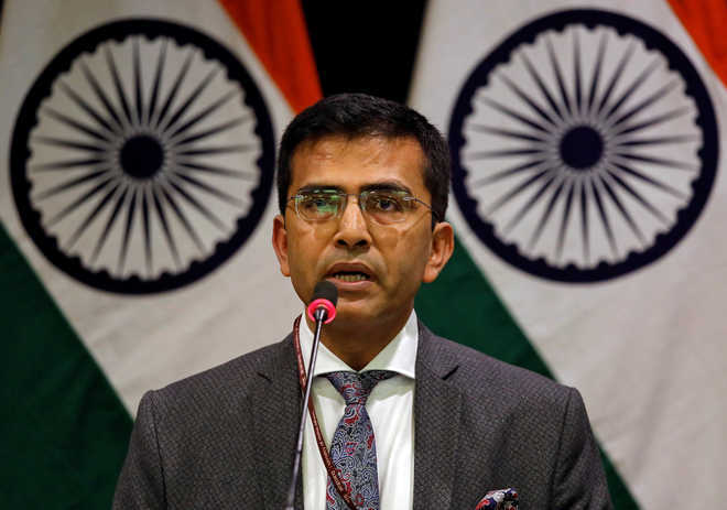 MEA rejects K-reference by China, Pak in joint statement