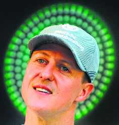 Schumacher in Paris for cell therapy