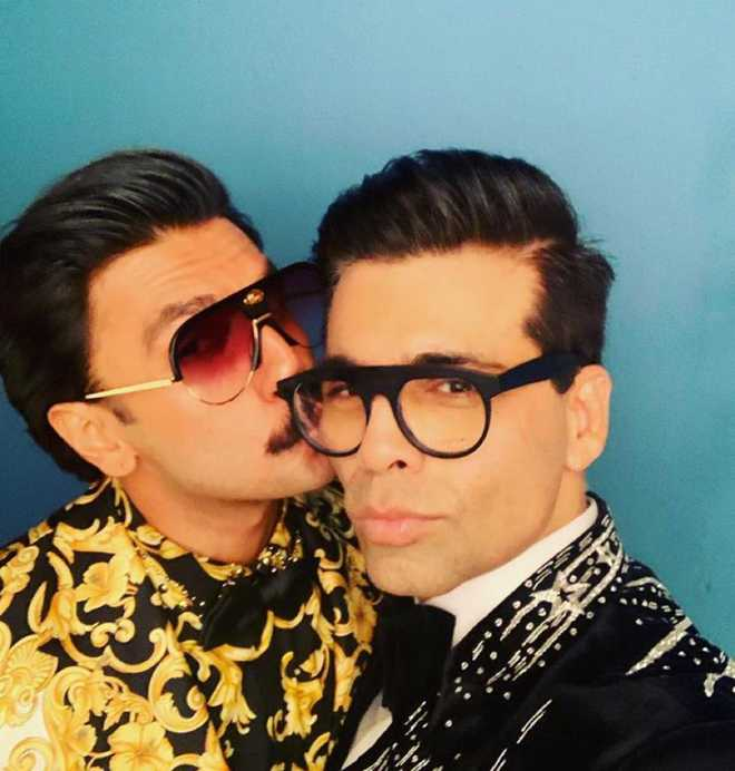Karan Johar, Ranveer Singh knew the answer of KBC''s Rs 1 crore question, courtsey 'Takht'