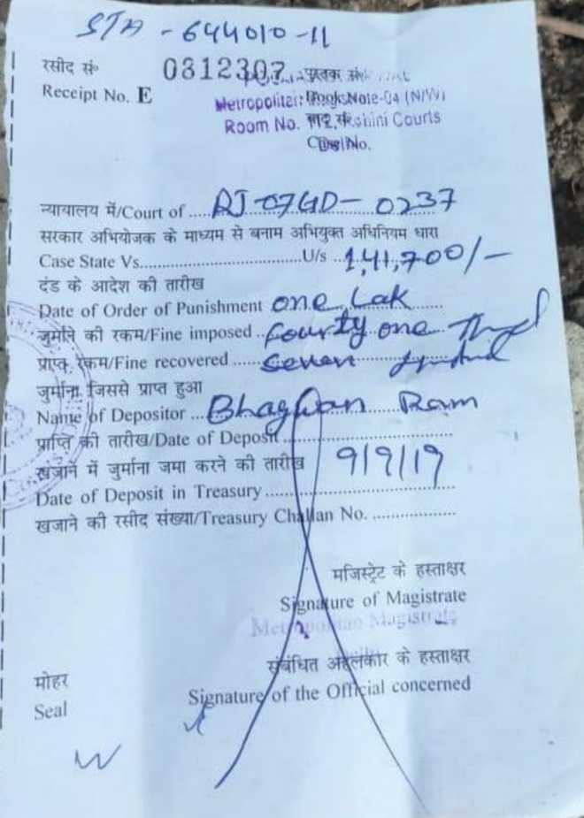 Delhi cops issue Rs 1.41 lakh challan to Rajasthan trucker for overloading vehicle