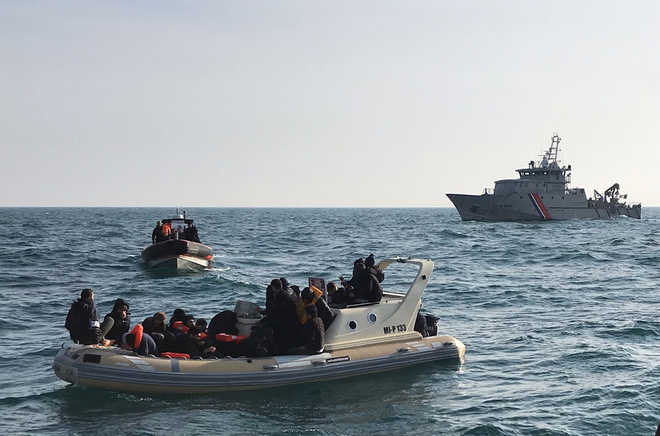 UK intercepts 86 migrants crossing Channel in one day