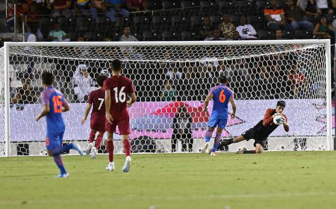 Anything is possible in football, says Gurpreet after goalless draw against Qatar