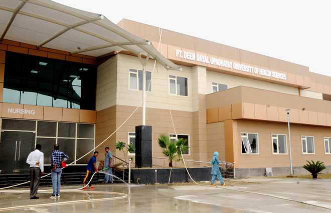 Nursing, physio college buildings open today