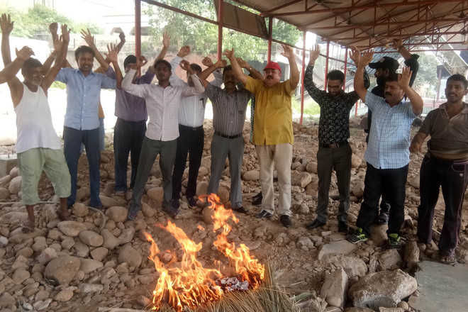NDPI protests poor condition of Jogi Gate cremation ground
