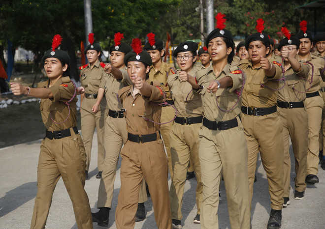 Over 500 cadets participate  in Nagrota NCC camp