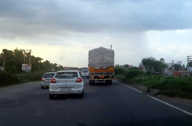 NH-44 widening work goes  on at snail's pace
