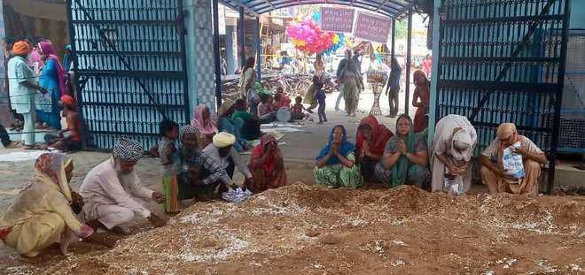 Devotees throng Guga Mari Temple