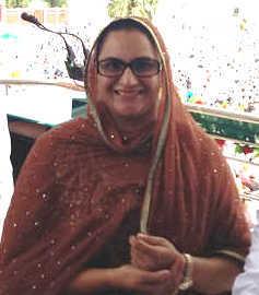 Razia Sultana takes stock of bus stand work