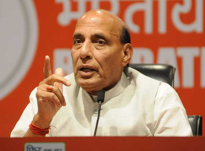Armed forces should be at forefront of combating bioterrorism: Rajnath