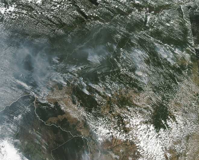 Fires still erupting in Brazil's Amazon and Cerrado regions