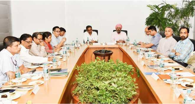 Punjab govt, centre team meet, to discuss flood damage in 11 districts
