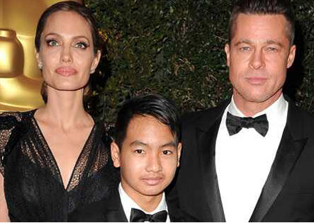 Whatever happens, happens: Brad Pitt's son when asked if their relation is over