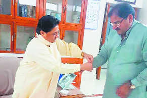 'Unpredictable' BSP gears up to fight all 90 seats