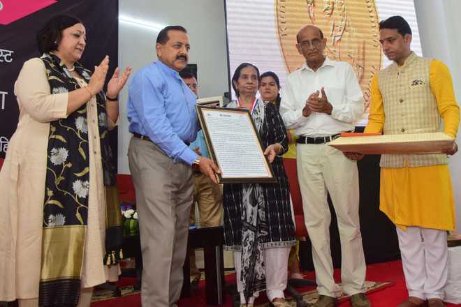 Dogri literary personalities awarded