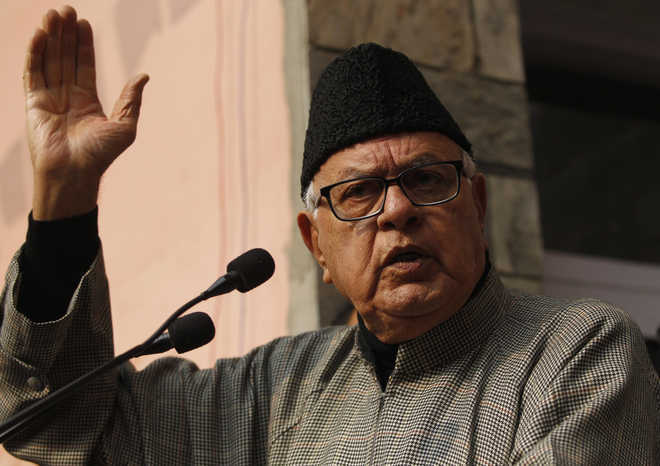 J-K ex-CM Farooq Abdullah detained under PSA, can go sans trial for two years
