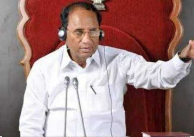 Andhra ex-speaker commits suicide at his Hyderabad residence