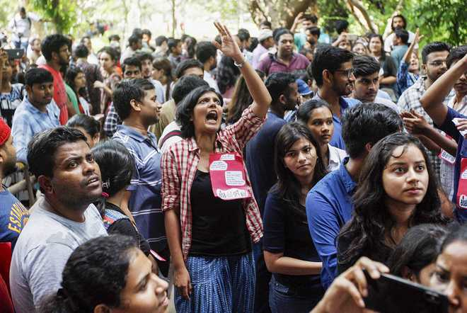 United Left wins all 4 central panel posts in JNU Students' Union polls