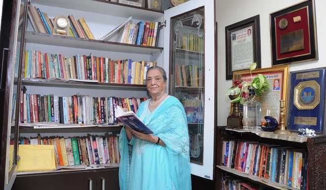Doyen of Punjabi literature not in good health, zeal keeps her going